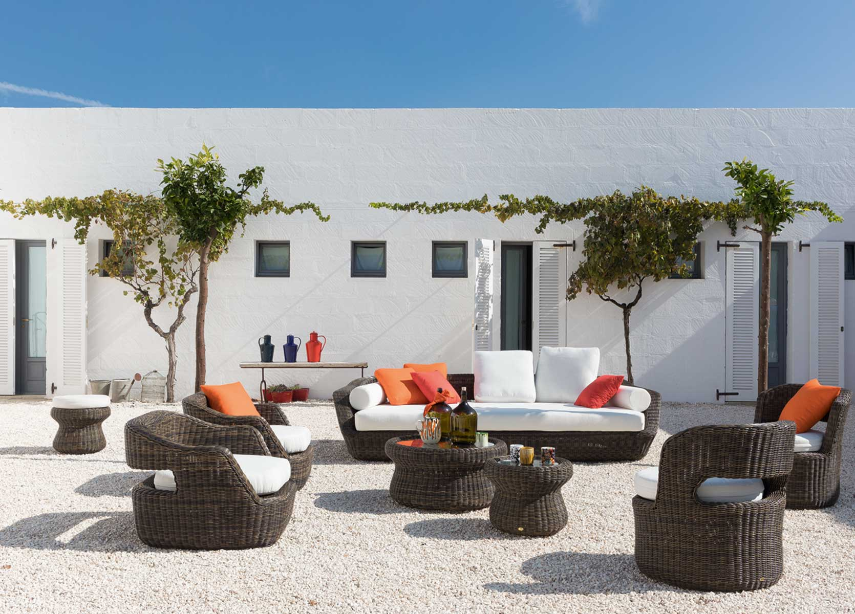 Outdoor Sofas, Benches and Armchairs