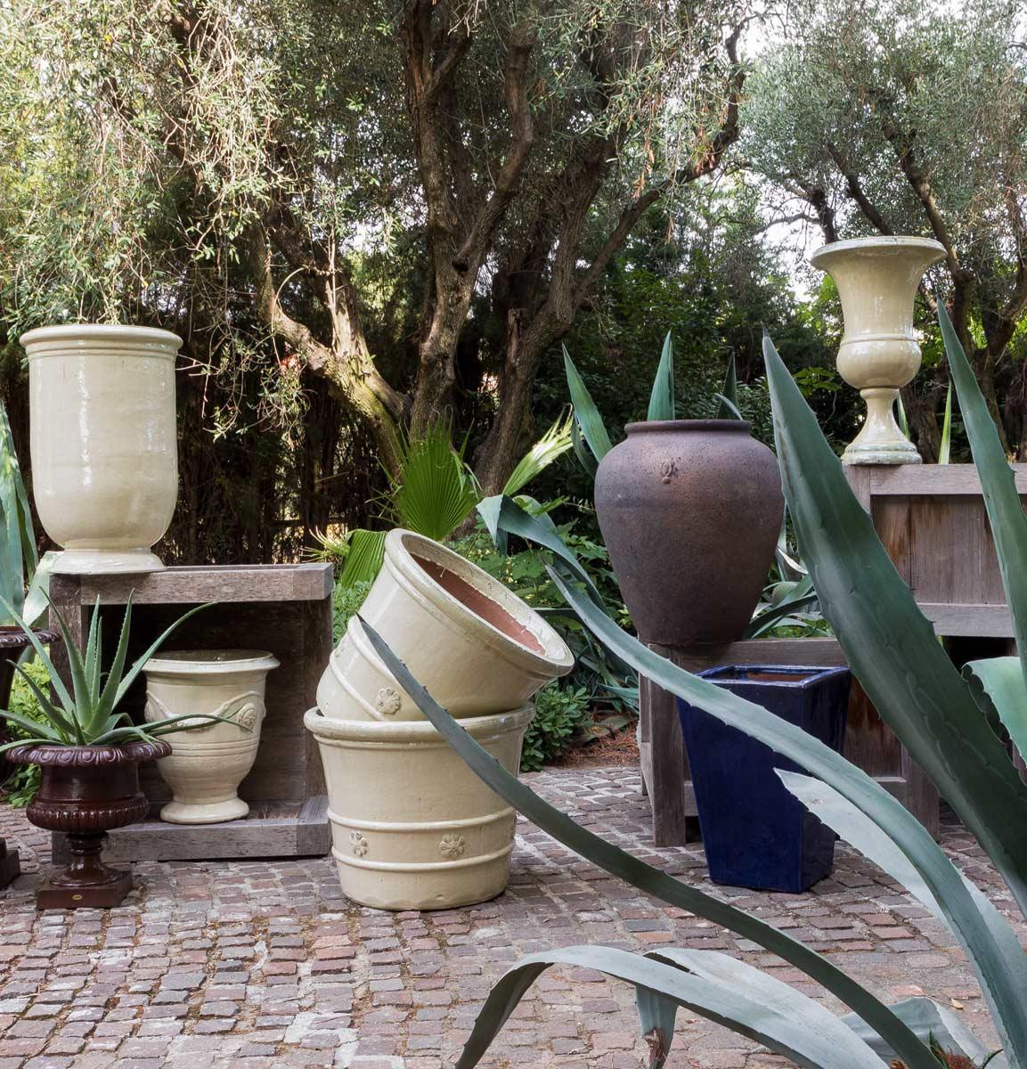 Pots flowerboxes