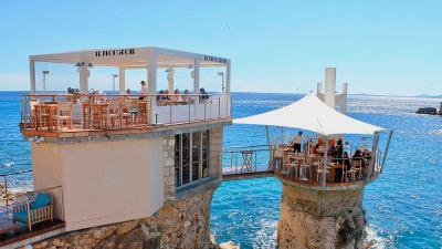 Le Plongeoir restaurant - Nizza